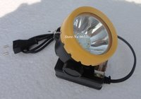 New LED Mining Lamp Headlight Cordless Head Light Free Shipping