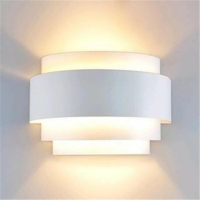 Aliexpress buy modern wall lamp led white wall sconce ambient modern wall lamp led white wall sconce ambient light flush mount wall lights lustres bathroom fixtures aloadofball Gallery