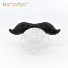 Funny Dummy Pacifier Moustache Babys Child Soother