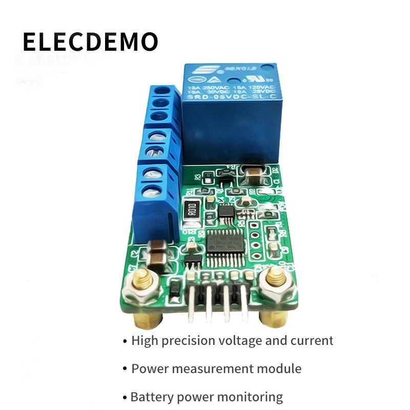 INA226 High precision voltage DC current  module power  battery power monitoring detection motor stall demo board-in Demo Board Accessories from Computer & Office