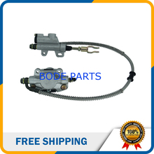 Buy online Wholesale Price Motorcycle Parts Rear Disc Brake Assembly Master Cylinder Caliper For ATV Dirt Bike Quad Free Shipping DS-131
