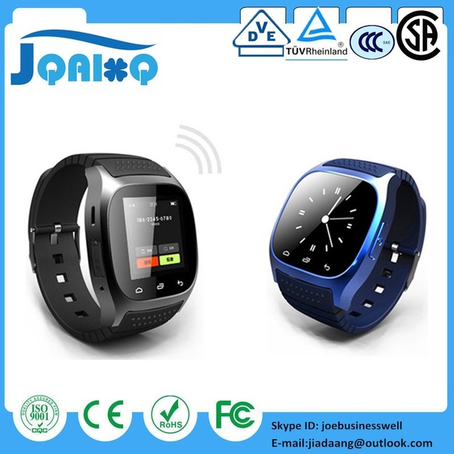 07727c26e0e DHL Wholesale Smartwatch M26 Bluetooth Smart Watch With LED Alitmeter Music  Player Pedometer For Apple IOS Android Smart Phone