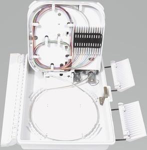 Image 4 - FTTH 12 cores fiber Termination Box 12 port 12 channel Splitter Box indoor outdoor fiber Splitter Box ABS