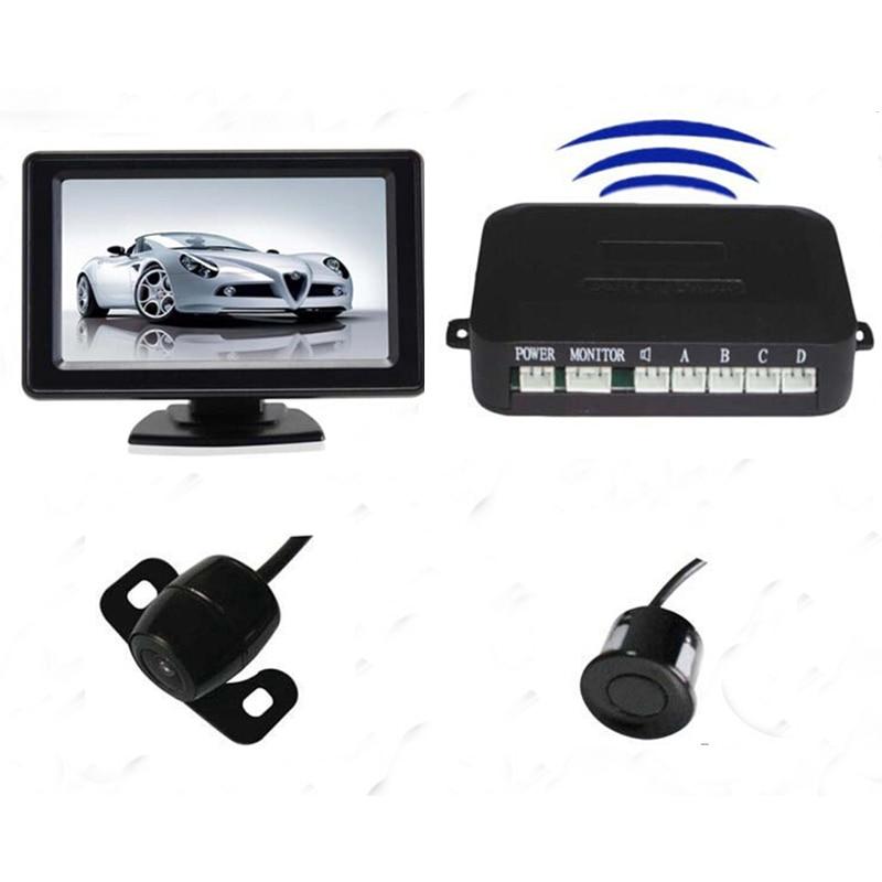 Здесь можно купить   Wireless rear view camera parking sensor backup radar alert alarm system 4 sensors 2 in 1 Автомобили и Мотоциклы