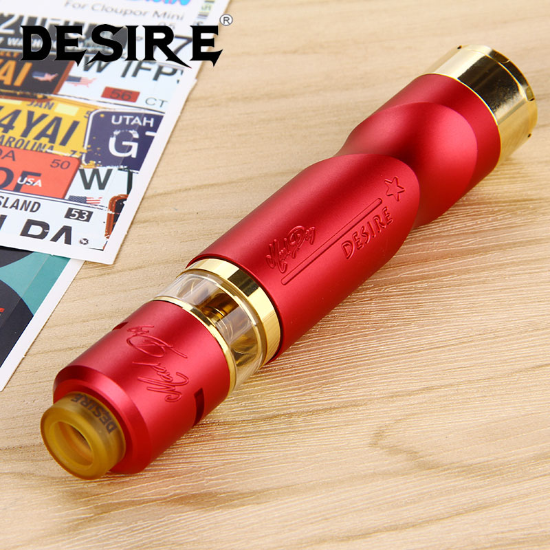 Original Desire Mad Dog RDTA Kit Mechanical Mod with 7ml Capacity Mad Dog RDTA Atomizer Tank Powered by 18650 Battery E-cig Vape original fumytech dragon ball rdta atomizer dragonball culture cystal ball rdta electronic cigarette atomizer vaporizer