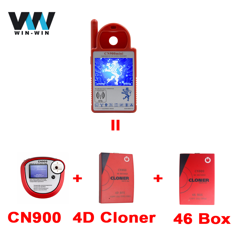 Newest CN900 ND900 Mini Transponder Key Programmer Mini CN 900 ND 900 Support 4C 4D 42