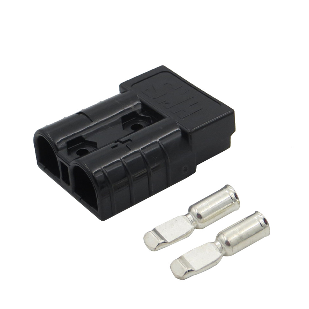 1x 50Amp Anderson Style Plug 12v 24v Carvan Charger Battery DC Power Connector self-wipe strong shock environment 600V