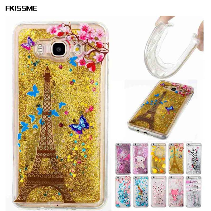 Phone Bags & Cases Tpu Dynamic Liquid Glitter Bling Anti-knock Sand Case For Samsung Galaxy J2 Pro 2018 J3 J5 J7 2017 G530 J120 J510 J710 Cover Cellphones & Telecommunications