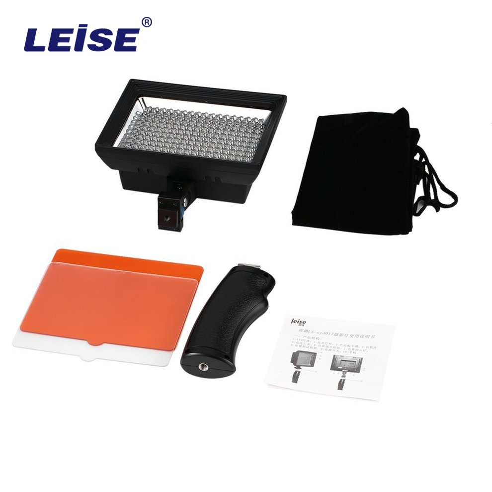 LEISE SYD017 5500/3200K Video Light Professional Universal for Video Shooting Studio Outdoor Video Photography 187-LED 11W деревянные лыжи tisa 90515 top universal 187