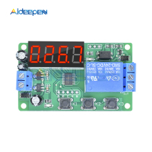 цена на DC 24V LED Digital Display Delay Time Module Switch Control Relay Cycle Timer