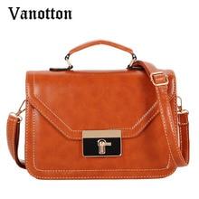 2016 Brand Women's Handbag Pu Leather Bags for Women Vintage Handbag Fashion Casual Woman Shoulder Bag Ladies Messenger Bags