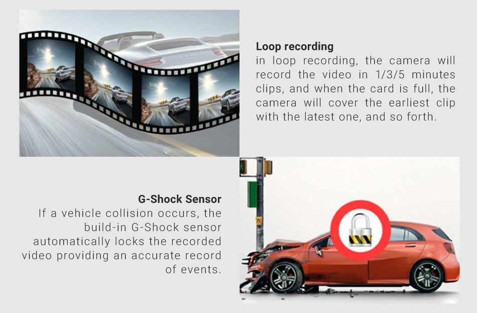 Original Ruccess 3 in 1 Radar Dvr  FHD 1296P Built-in GPS Car Detector Dual lens Car Camera Anti Radar Detector Russian Speedcam 17