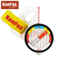 KANPAS elite competition orienteering thumb compass with safety cover,free shipping,MA-43-FS/ free bandana