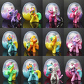 Atacado Dos Desenhos Animados boneca poni Torcida Ovo Brinquedos Crianças Natal Presente de aniversário