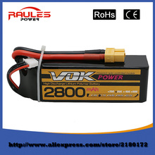 Free Shipping Lipo Battery 11.1V 2800Mah 3S 35C XT60 For RC Helicopter Quadcopter Drone Truck Car Boat Bateria Lipo