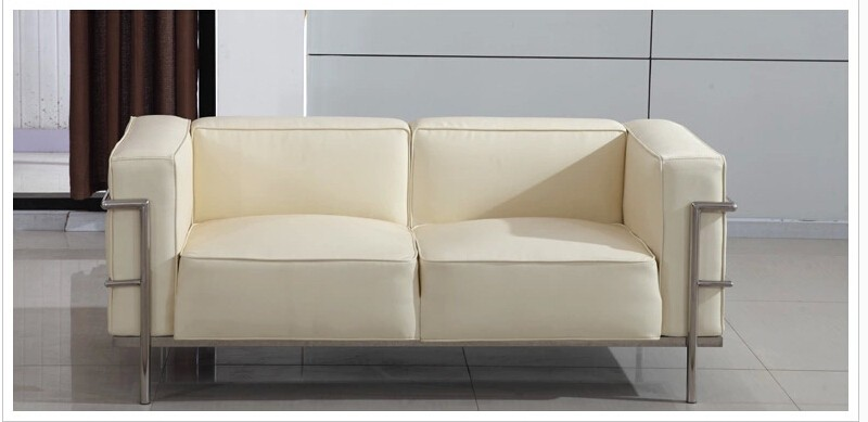 Le Corbusier Style LC3 Sofa 3-seat or Loveseat 2-seat  (4)
