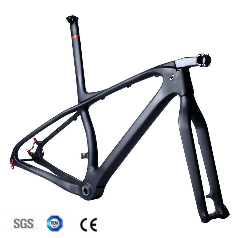 2016 new arrival t1000 full carbon mtb frame 29er 275er mountain bike carbon frame 3k