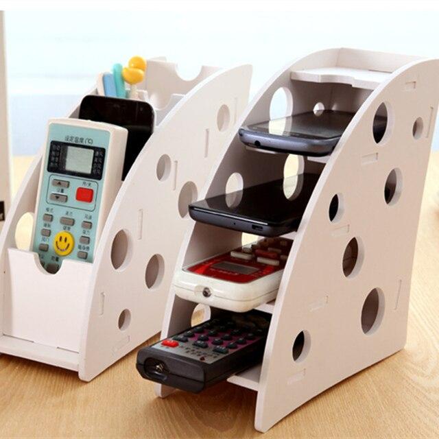 acheter bricolage bois 4 fente de bureau bo te de rangement pour t l commande. Black Bedroom Furniture Sets. Home Design Ideas