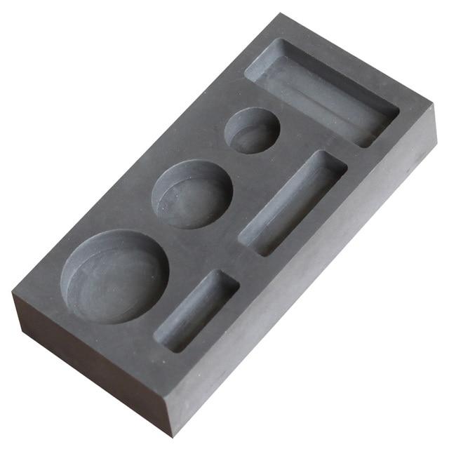 Populares Molde de grafite lingote para fazer barra de ouro e prata bar  DI63