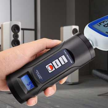 """ND9B - Digital Sound Level Meter Calibrator Professional Noise Decibel Tool 94dB & 114dB for 1/2\"""" and 1\"""" inch Microphone"""