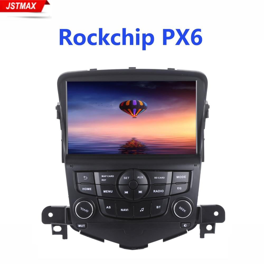 Lecteur Radio de Navigation GPS de voiture IPS 8 Android 9.0 pour Chevrolet Cruze 2008-2011 avec 4 GB + 64B stéréo automatique Navi multimédia