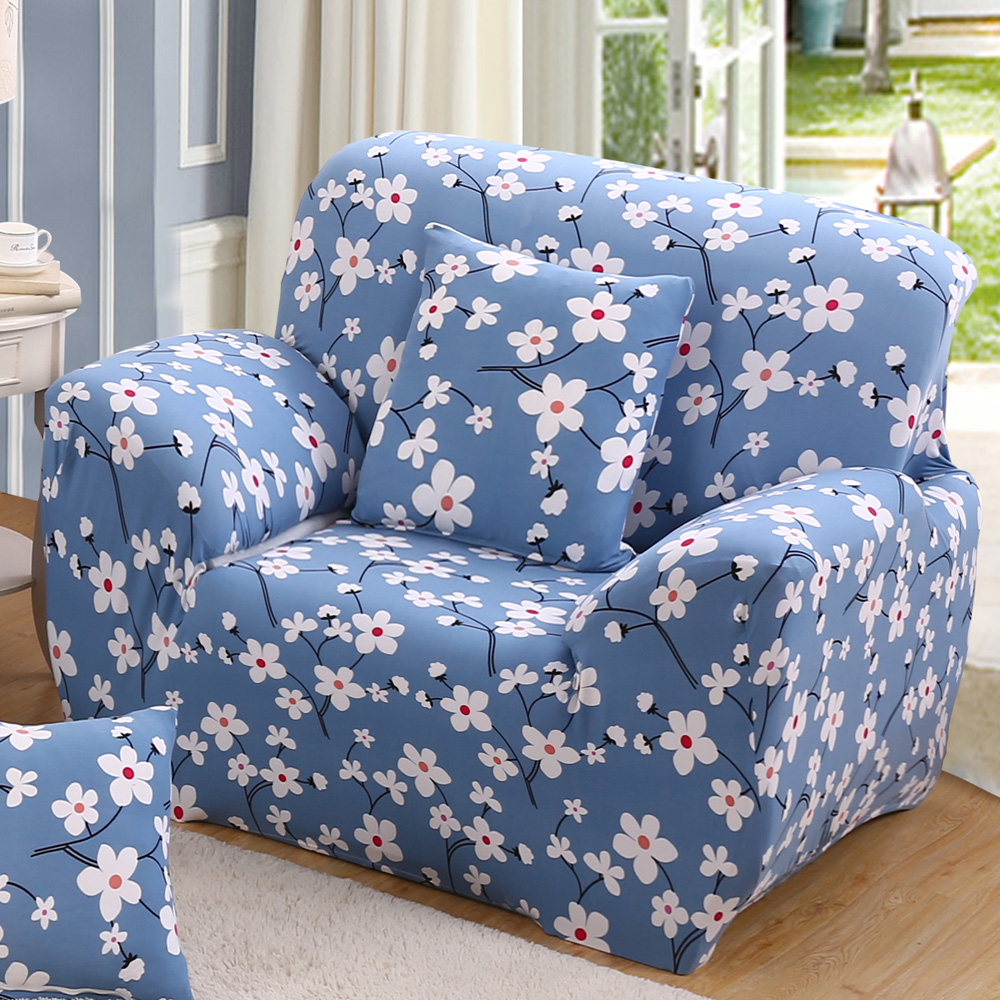 flower slipcover sofa cover tightly wrap single/double/three/four-Seat Sofa Cover elasticity chair cover 1-Piece