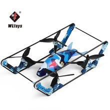 Original WLtoys Q919 – A 4CH 2.4G 5.8G FPV with 2.0MP HD Camera 6 Axis Gyro Quadcopter 2 in 1 Tank Drone RTF