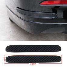 Car Bumper Corner Door Guard Strip Anti Collision Crash Bar Scratch Protection Lip Cover Trim Soft Scrape Sticker(China)