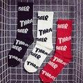 THRASHER 1:1 SockUnisex Длинные Хлопчатобумажные Носки Печати Трэшер Скейтборд Зима Теплый Носок