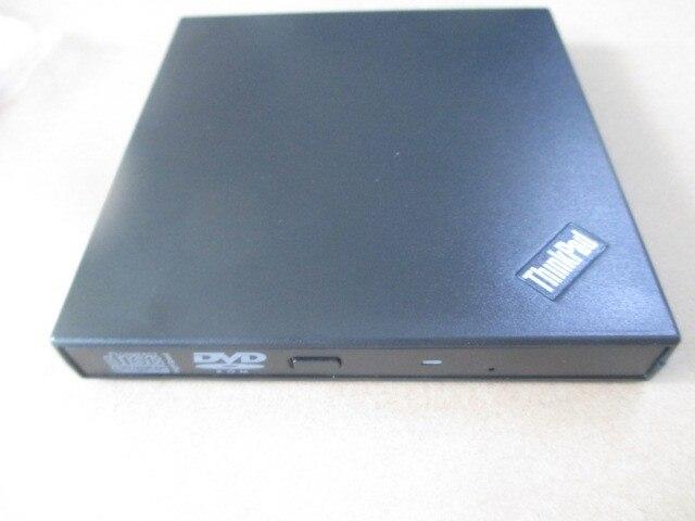 Laptop Externo USB DVD Player DL Dual Layer 8X DVD-ROM Combo 24X CD Burner Tray-Loading Slim Drive Óptico