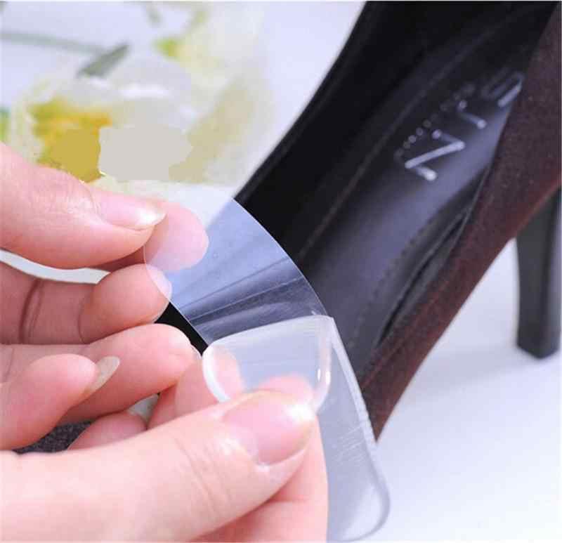 Di Vendita caldo 1 Del Gel Del Silicone Paio Heel Cushion Cura Del Piede Rilievi del Pattino dei Sottopiedi del Pattino Delle Donne Self-adhesive