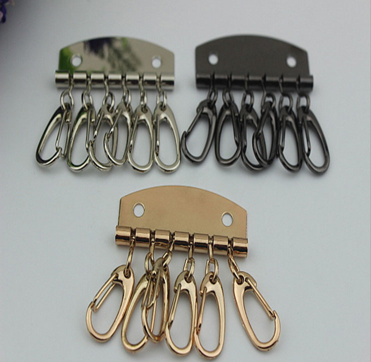 Vertrouwend 10 Stks/partij Bagage Hardware Accessoires Diy Craft Lederen Sleutel Pakket Hardware Accessoires Hand Stitch Rij Van Toetsen