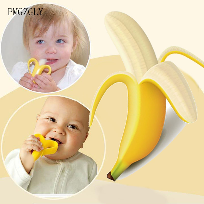 baby teether toy toothbrush Infant Cartoon Shape Teethers Corn modeling Silicone Teething For Baby Teether Oral Care Dental Care