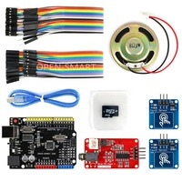 OPEN SMART MP3 Player Kit With UNO R3 Board Micro SD Card Touch Sensor Module MP3