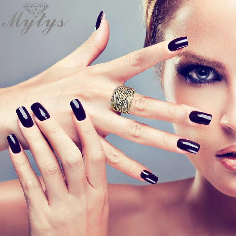 Mytys Mode Chunky Rings untuk Partai Wanita Batu Cincin GP Gratis - Perhiasan fashion - Foto 2