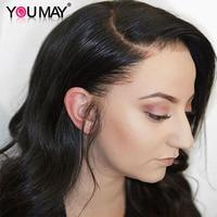 Прозрачный полный парик шнурка с волосами младенца 130% волнистые бразильские полные парики шнурка человеческих волос для женщин Вы можете