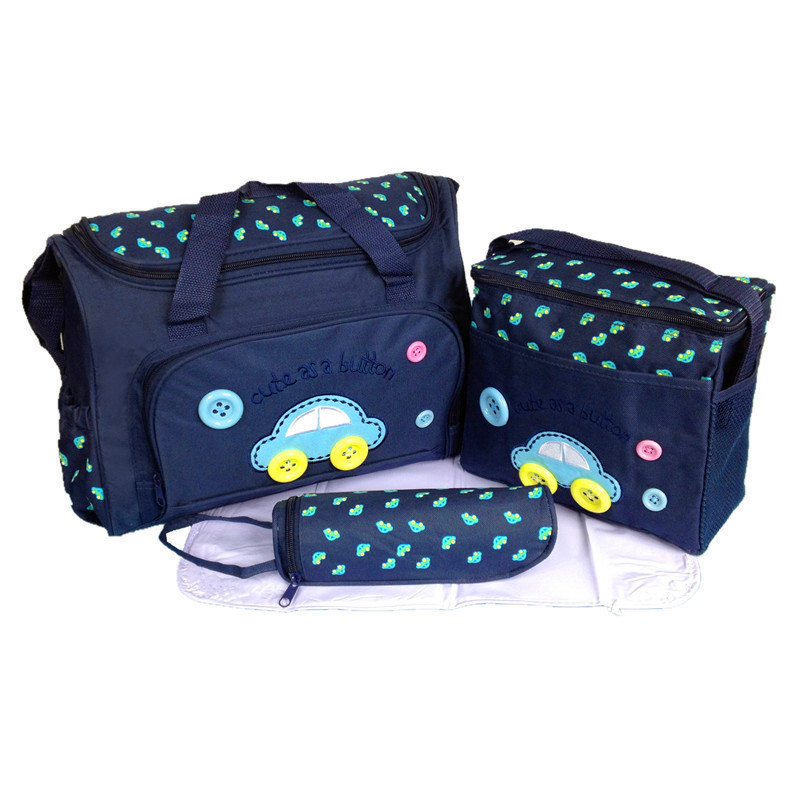 4pcs/set PROMOTION Maternity Backpack Nappy wet Diaper Backpacks For Travel Multifunctional Mother Mummy Mom Baby Bags promotion diaper bags organizer storage mummy bags for mom baby bottle multifunctional