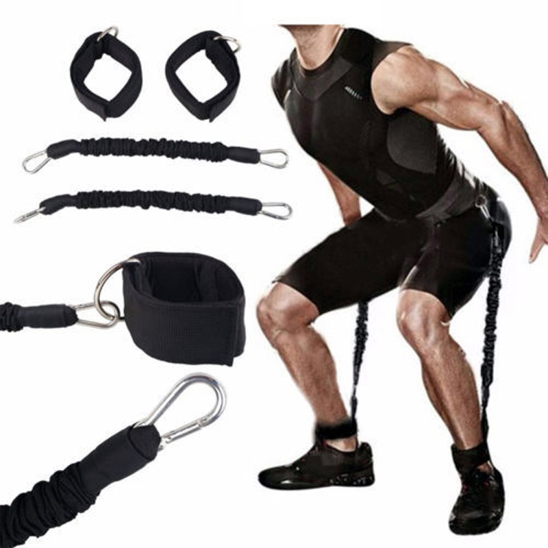 Équipement d'entraînement de traînée et de traction et équipement d'entraînement multifonctionnel de jambe de taille, ceinture de résistance, combinaison de traction