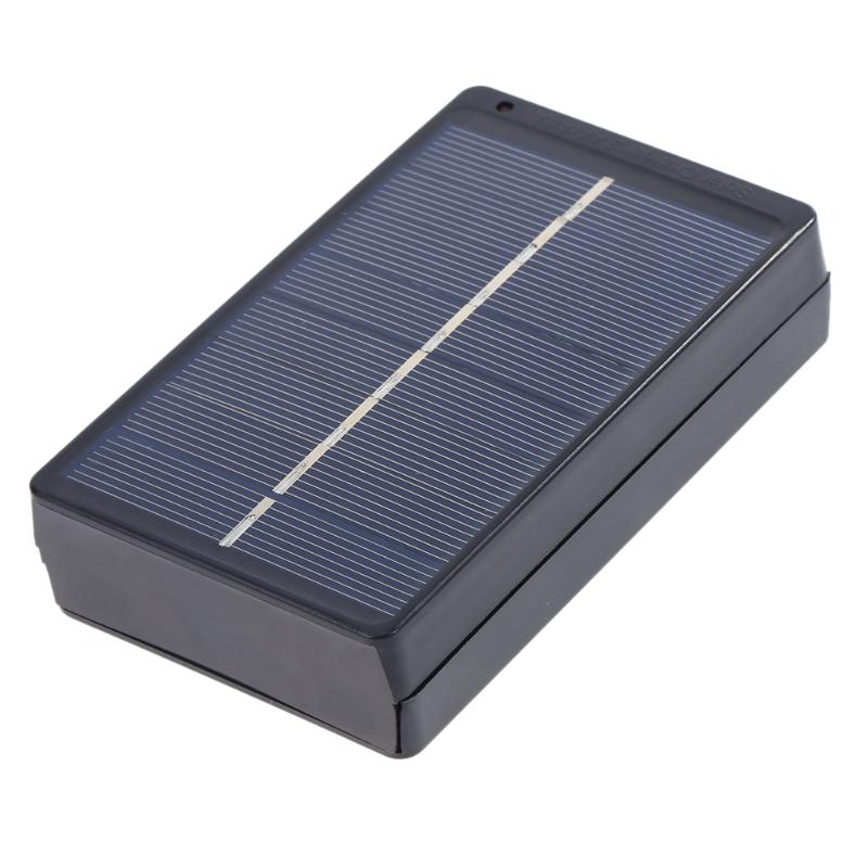 1W 4V AA/AAA Battery Solar Panel Board Charger Energy Charging Power Supply Charge Box for 2 x AA/AAA Rechargeable Battery