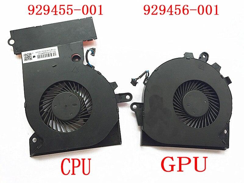 NEW brand Fan For HP 15-CE 17-AN TPN-Q194 929455 929456-001 NFB74A05H-001 NS75B00-16M02 NS85B00-16M03 NFB76A05H-001