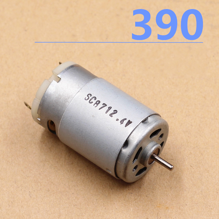 New high quality High speed miniature 390 copper ball 3V 6V DC mini electric drill motor Toy small motor
