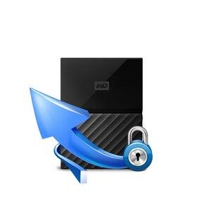 Image 5 - Wd meu passaporte 1tb 2tb disco rígido externo usb 3.0 criptografia portátil hdd hd disco rígido sata para notebook portátil windows mac