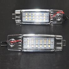 2Pcs LED Number License Plate Light Lamp for TOYOTA Hiace S.B.V/Highlander/RAV4/Land Cruiser 200/For Lexus RX300/For Scion XB
