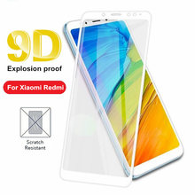 цена на Full Cover Tempered Glass For Xiaomi redmi 6 6A 7 7A K20 Pro 5A Redmi Note 7S 4 5 6 7 Pro 9D Screen Protector smartphone film