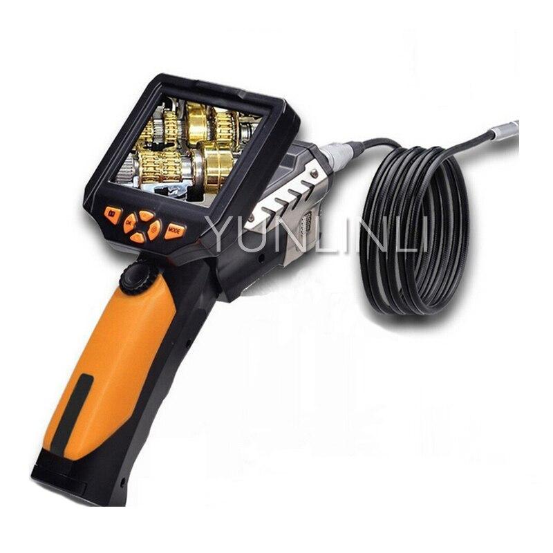 Adaptable 5.5mm Waterdicht Lens Industriële Endoscoop 3.5 Inch Scherm Snake Tube Video Camera 1 M 3 M Lens Buis Nes200 Aangename Zoetheid