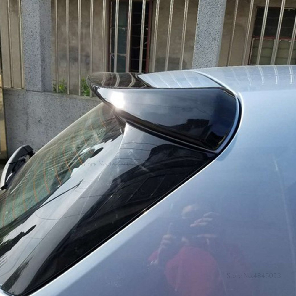 AITWATT Fit For <font><b>Peugeot</b></font> 308S <font><b>2015</b></font> 2016 2017 Rear White Spoiler High Quality ABS Material Car Rear Wing Primer Color Rear Spoiler image