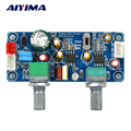 AIYIMA Low Pass Filter Bass Subwoofer Preamp Verstärker Board Einzel Power DC 9 32 V Vorverstärker Mit Bass Volumen einstellung-in Verstärker aus Verbraucherelektronik bei