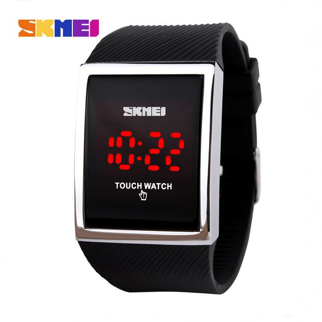 Fashion Casual Unisex Touch Screen LED Sports Watches 30m Waterproof Digital Watch For Men Women Dress Wristwatches