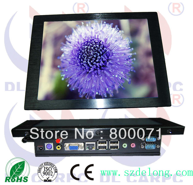 """10.4 """"Industrial  Touch All In One PC"""