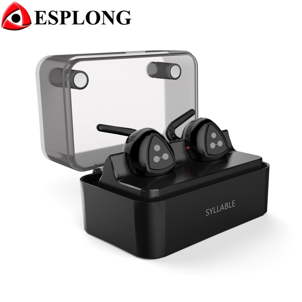 Syllable D900mini Wireless Bluetooth Earphone Stereo Sport Headphone With Mic Hands Free Headset fone de ouvido D900 Mini PK Q29 bluetooth earphone headphone for iphone samsung xiaomi fone de ouvido qkz qg8 bluetooth headset sport wireless hifi music stereo